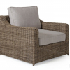 Glendon кресло плетеное