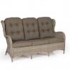 Evita beige плетеный диван